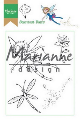 Marianne D. - Clear Stamp - Hetty`s Stardust Fairy