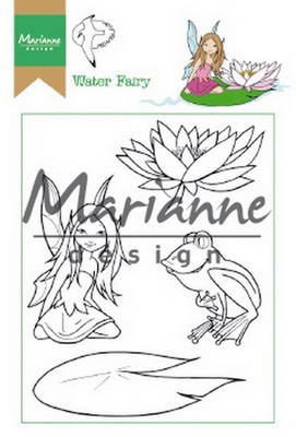 Marianne D. - Clear Stamp - Hetty`s Water Elfje