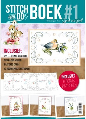 Stitch & Do Boek A6  nr. 1