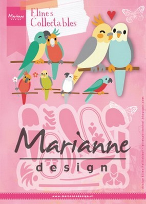 Marianne Design - Collectables - Eline`s Vogels