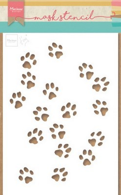 Marianne Design - Craft Stencil -Tiny`s Kattenpootjes