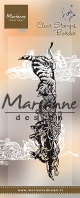 Marianne Design - Clear Stamp - Tiny`s Kittens Rand
