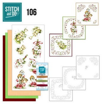 Stitch & Do 106 - Pink Spring Flowers