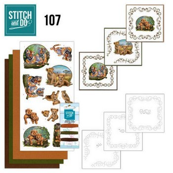 Stitch & Do 107 - Wild Animals