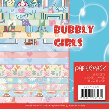 Paperpack Yvonne Creations - Bubbly Girls