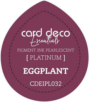 Card Deco Essentials - Pigment Ink Pearlescant - Eggplant