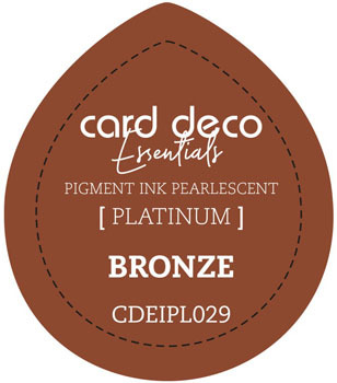 Card Deco Essentials - Pigment Ink Pearlescant - Bronze