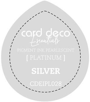 Card Deco Essentials - Pigment Ink Pearlescant - Silver