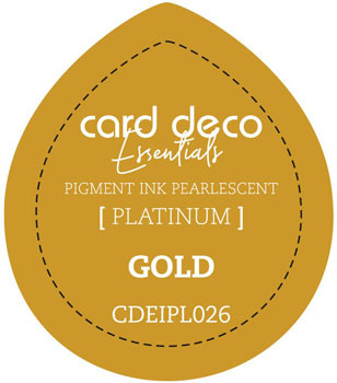 Card Deco Essentials - Pigment Ink Pearlescant - Gold