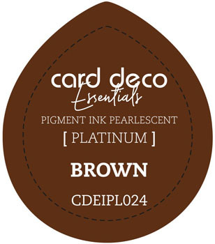Card Deco Essentials - Pigment Ink Pearlescant - Brown