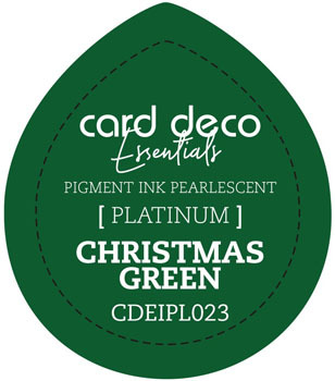 Card Deco Essentials - Pigment Ink Pearlescant - Christmas Green