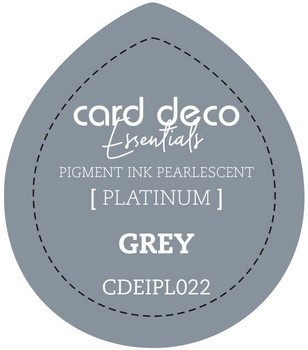 Card Deco Essentials - Pigment Ink Pearlescant - Grey