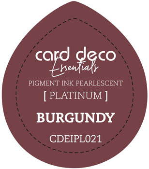 Card Deco Essentials - Pigment Ink Pearlescant - Bourgundy