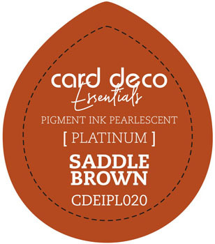Card Deco Essentials - Pigment Ink Pearlescant - Saddle Brown