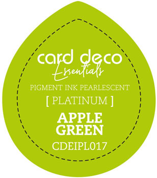 Card Deco Essentials - Pigment Ink Pearlescant - Apple Green
