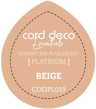 Card Deco Essentials - Pigment Ink Pearlescant - Beige