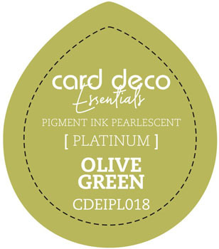 Card Deco Essentials - Pigment Ink Pearlescant - Olive Green