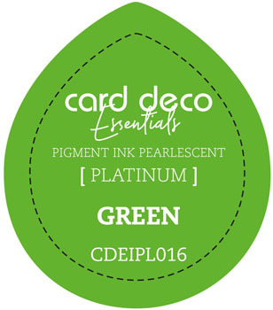 Card Deco Essentials - Pigment Ink Pearlescant - Green
