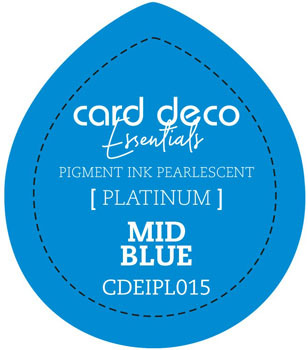 Card Deco Essentials - Pigment Ink Pearlescant - Mid Blue