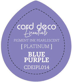 Card Deco Essentials - Pigment Ink Pearlescant - Blue Purple