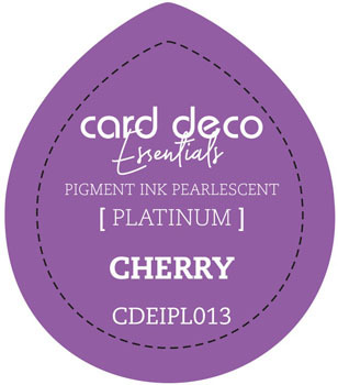 Card Deco Essentials - Pigment Ink Pearlescant - Cherry