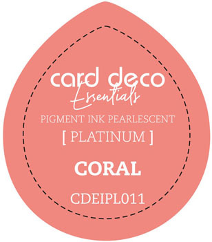 Card Deco Essentials - Pigment Ink Pearlescant - Coral