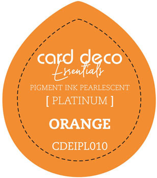 Card Deco Essentials - Pigment Ink Pearlescant - Orange