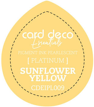 Card Deco Essentials - Pigment Ink Pearlescant - Sunflower Yellow