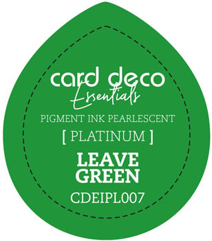 Card Deco Essentials - Pigment Ink Pearlescant - Leave Green