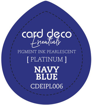 Card Deco Essentials - Pigment Ink Pearlescant - Navy Blue