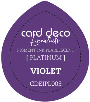 Card Deco Essentials - Pigment Ink Pearlescant - Violet