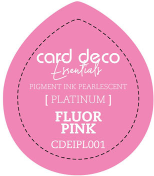 Card Deco Essentials - Pigment Ink Pearlescant - Fluor Pink