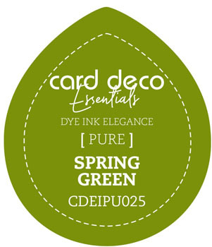 Card Deco Essentials - Fade-Resistant Dye Ink - Spring Green