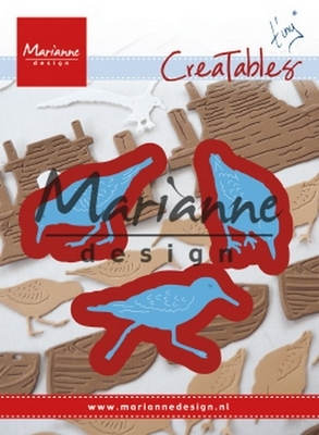 Marianne D. Creatable stencil Tiny's Sandpipers