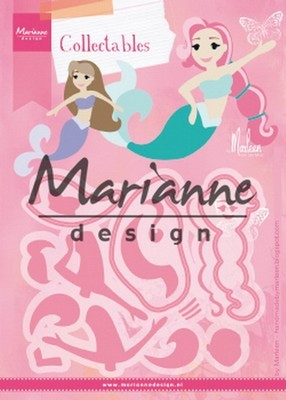 Marianne Design - Collectable - Mermaids by Marleen