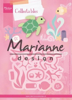 Marianne Design - Collectable - Sealife by Marleen