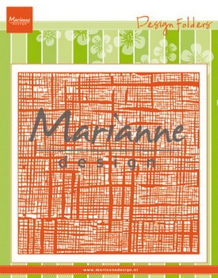 Marianne Design - Embossing Folder - Linnen