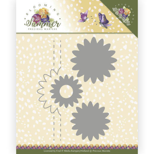 Die - Precious Marieke - Blooming Summer - Pop-up Flower 1