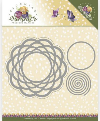Die Precious Marieke - Blooming Summer - Braided Circle