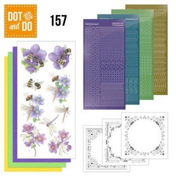 Dot & Do 157 - Bees and Dragonflies
