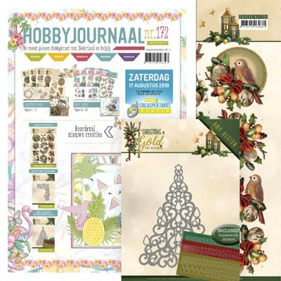 Die Amy Design Christmas Tree ADD10182/Hobbyjournaal 172