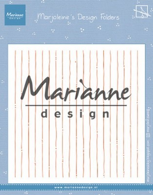 Marianne D. Design Folder - Marjoleines Stripes