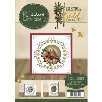 Creative Embroidery 3 - Amy D. - Christmas in Gold
