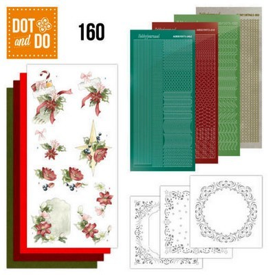 Dot & Do 160 - Red Christmas Ornaments