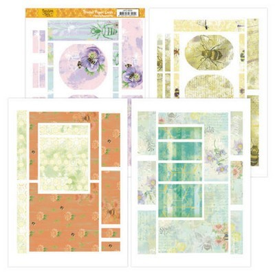 Printed Figure Cards - Jeanine's Art - Buzzing Bees