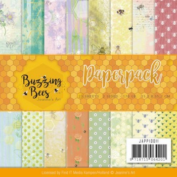 Paperpack - Jeanine's Art - Buzzing Bees - Set of Bugs