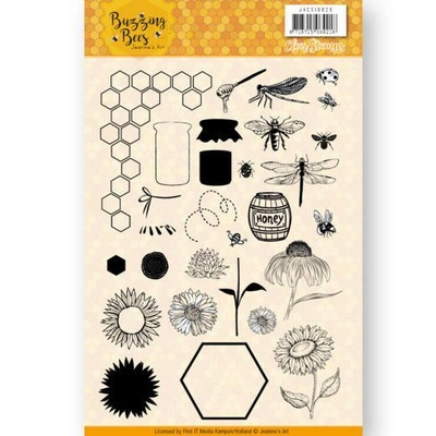 Clearstamp - Jeanine's Art - Buzzing Bees