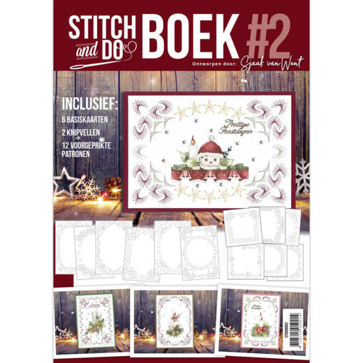 Stitch & Do Boek #. 2 - Sjaak van Went