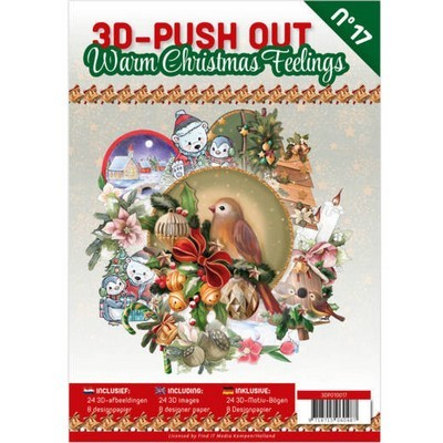 3D Push-out Boek nr. 17 - Warm Christmas Feelings