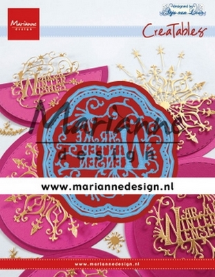 Marianne D. Creatables - Anja's Warme Winter Wensen